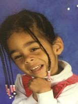 Police photo of Alize Whipple, 6 year-old girl from Fitchburg who is subject of an Amber alert.