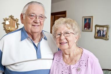 Alfred and Jean Rozanski, parents of Bishop Mitchel T. Rozanski