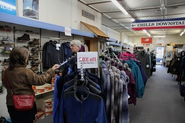 Inside Western Village Ski & Sports, which is expected to close in early 2016.
