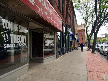 ae363735f9 32 Main St. in Northampton will soon be occupied by Theory Skateshop.
