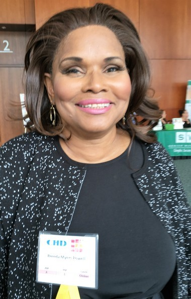 """Brenda Myers-Powell delivered the morning's keynote address, """"Combating Sexual Exploitation in Young Women."""""""
