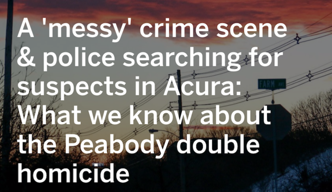 What we know about the Peabody double homicide - masslive com