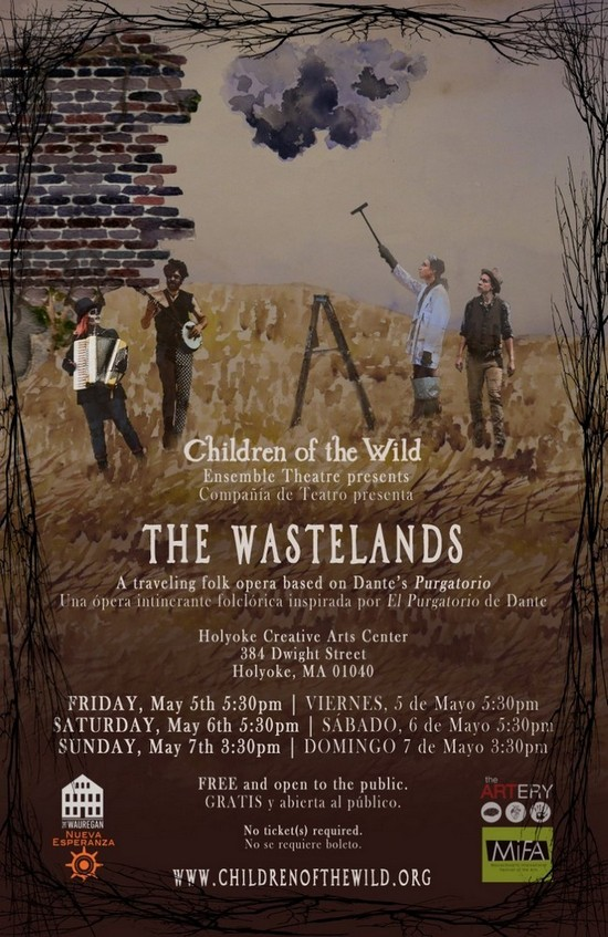 Children of the Wild returning to Holyoke to perform walking