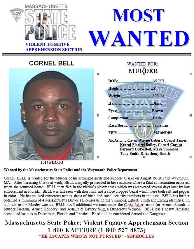 Massachusetts State Police adds 6 to list of 'most wanted
