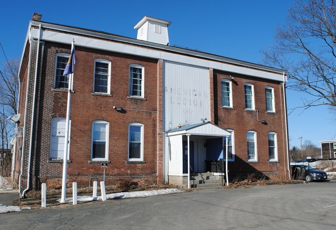 The American Legion Hall in Greenfield as seen in 2015