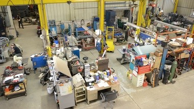 Inside the Applied Dynamics facility that rebuilds large industrial electric motors.