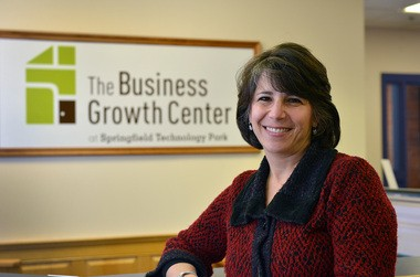 Marla Michel, Director of The Business Growth Center at Springfield Technology Park. (Don Treeger / The Republican)
