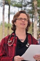 Katherine Atkinson, MD.