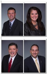 Brian M. Canina, Stacy A. Sutton, Joseph R. Zazzaro and Russell D. Fontaine