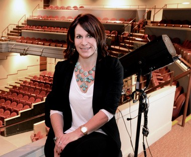 Tina D'Agostino, president of the Springfield Performing Arts Development Corp., at CityStage in a 2015 file photo.