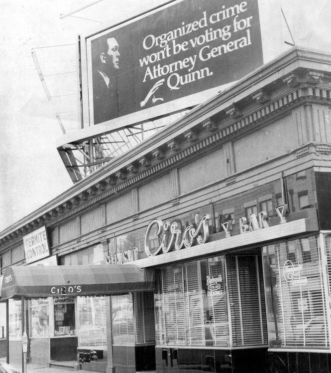 The original Ciro's at 868-870 Main St., seen here on Oct. 2, 1970.