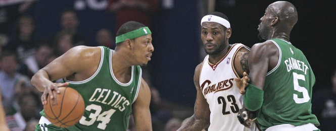 new concept cc59d 33447 The Boston Celtics vs. LeBron James: Which side is ahead in ...
