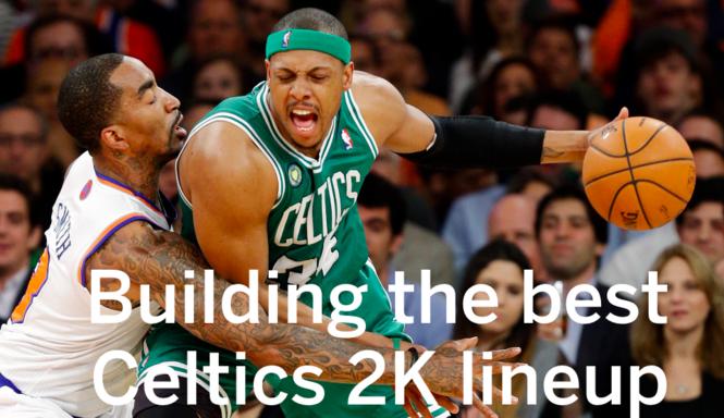 Boston Celtics on NBA 2K18: Building the best lineup to beat