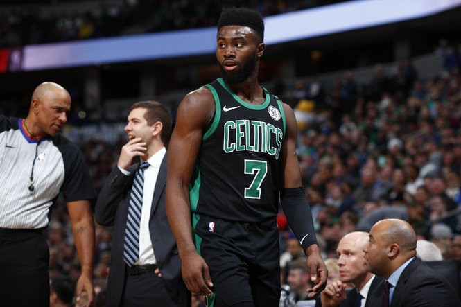 best loved 9f5c9 8d1e1 Boston Celtics' Jaylen Brown continues to make learning cool ...