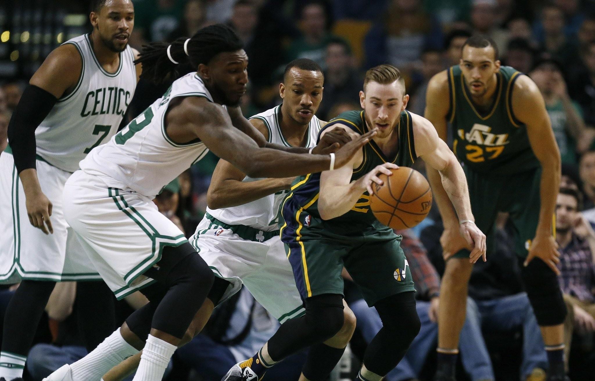 Boston Celtics Trade Rumors 2017 Gordon Hayward Sign And Trade For Jae Crowder Now Close Per Report Masslive Com
