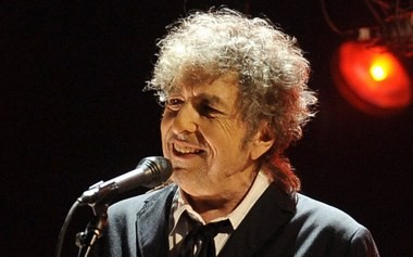 Bob Dylan, seen here at a January 12, 2012 concert in Los Angeles.