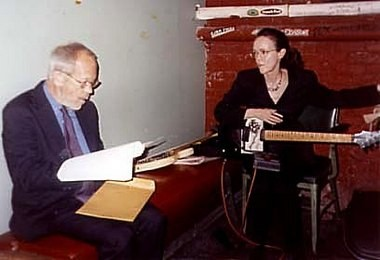 Elmore Leonard with Barbara Keith