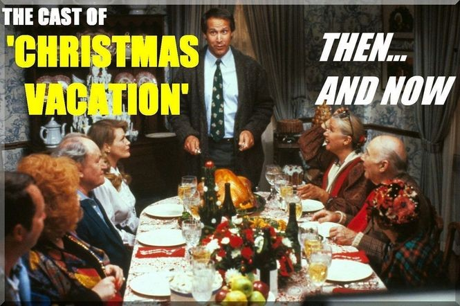 Christmas Vacation Cast.National Lampoon S Christmas Vacation Cast Then And Now