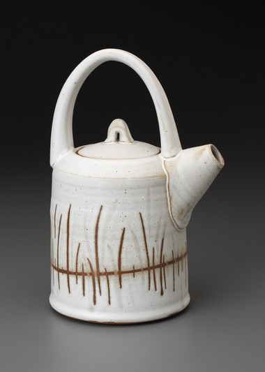 A pottery teapot from Tiffany Hilton