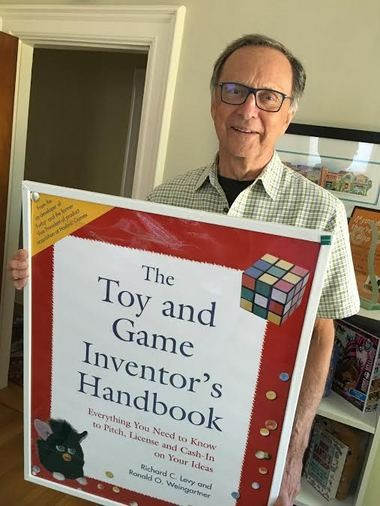 """Ronald O. Weingartner co-authored """"The Toy and Game Inventor's Handbook: Everything You Need to Know to Pitch, License, and Cash-In on Your Ideas,"""" with Richard C. Levy."""