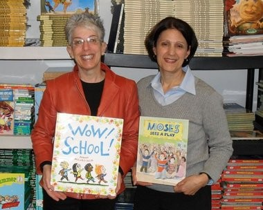 Susan Jaye-Kaplan and Janet Crimmins, founders of Link to Libraries
