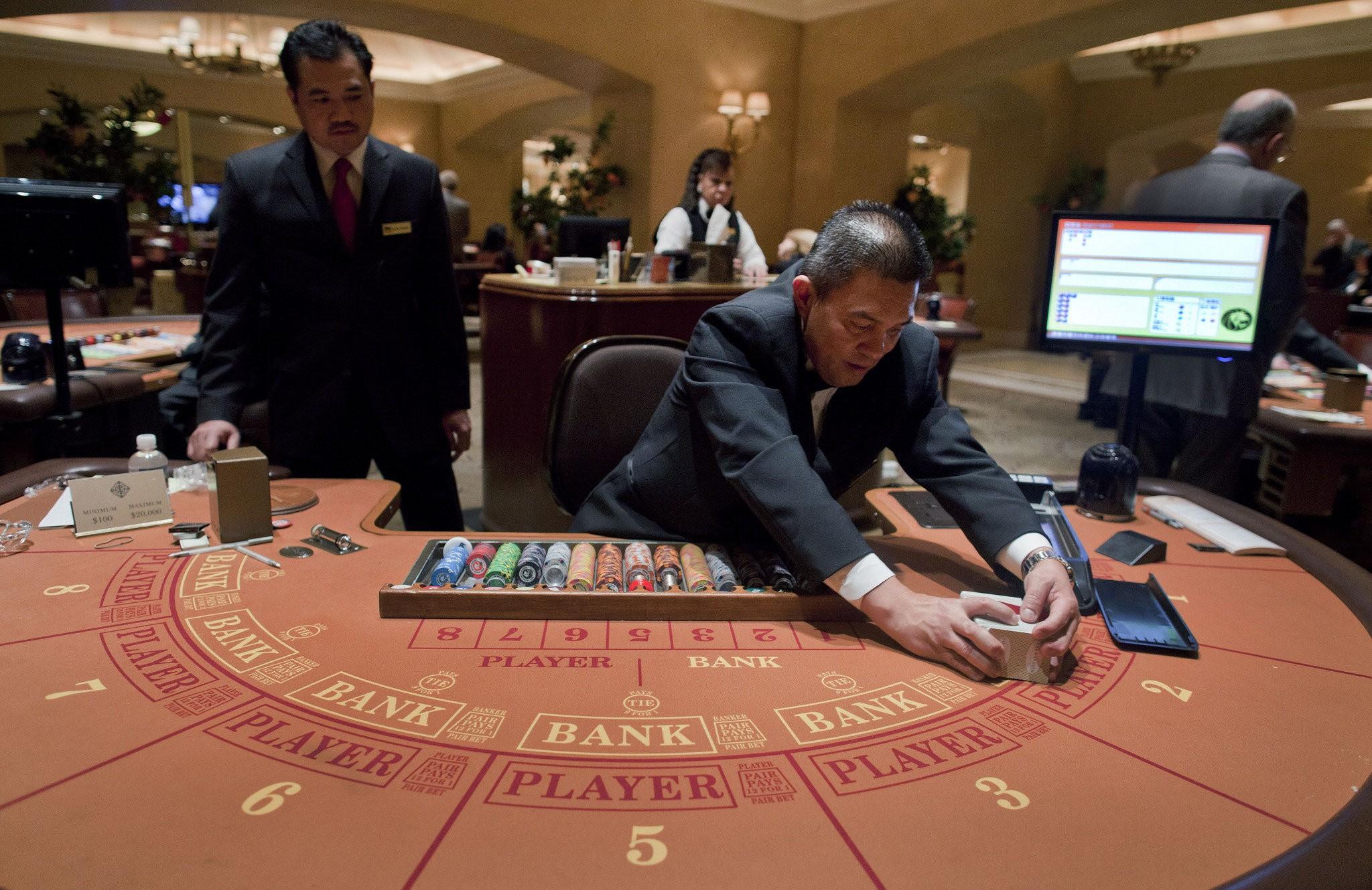 Las Vegas Casinos Relying More On Baccarat Masslive Com