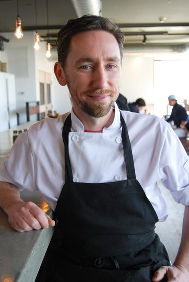 Brian Knox, owner and chef of North Amherst's Bread & Butter Cafe.