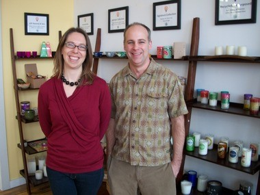Prosperity Candle founders Siiri Morley and Ted Barber have launched a nonprofit sister organization called Prosperity Catalyst to train Third World women as entrepreneurs in candle-making.