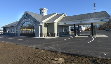 This new branch of the Greenfield Savings Bank opened at the site of the former Hill & Dale Mall in Northampton in December.