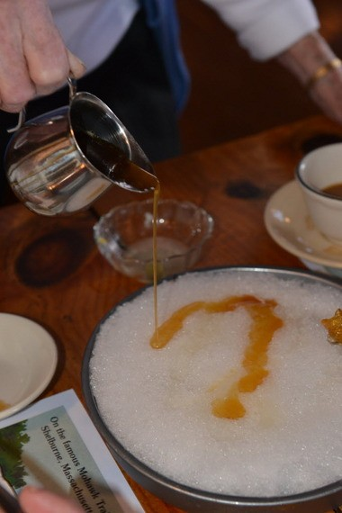 At Gould's Maple Sugarhouse, 'people come from all over' for