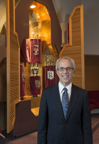 Rabbi Mark Dov Shapiro of Sinai Temple in Springfield.