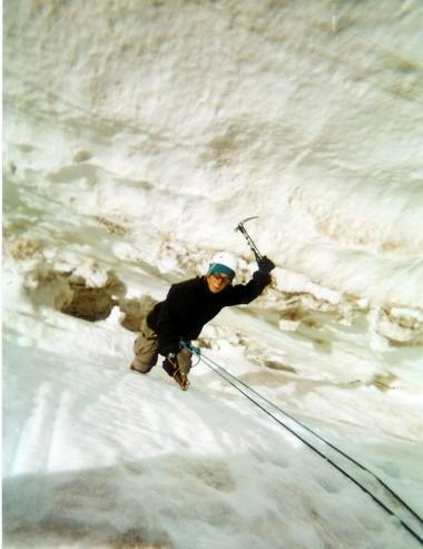 Cade climbs Washington's Mount Rainier.