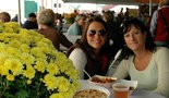 The Festival Dining Tent, with its unbelievable array of delicious flavors from around the world, is a favorite meeting place for friends taking a break at the show. Live music on the soundstage from regionally and nationally renowned bands set the mood.