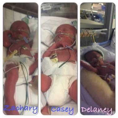Zachary, Casey and Delaney Latour.