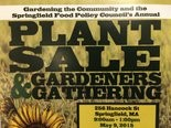 Annual plant sale in Springfield.