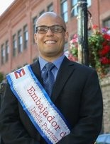 Eric Rosa is the sports ambassador for the 2016 Springfield Puerto Rican Parade.