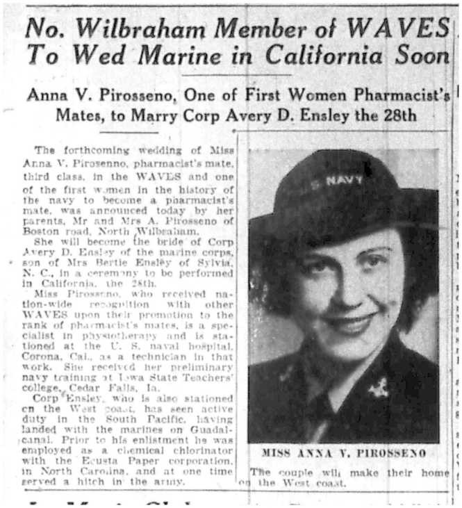 From the June 7, 1943 edition of the Springfield Daily News