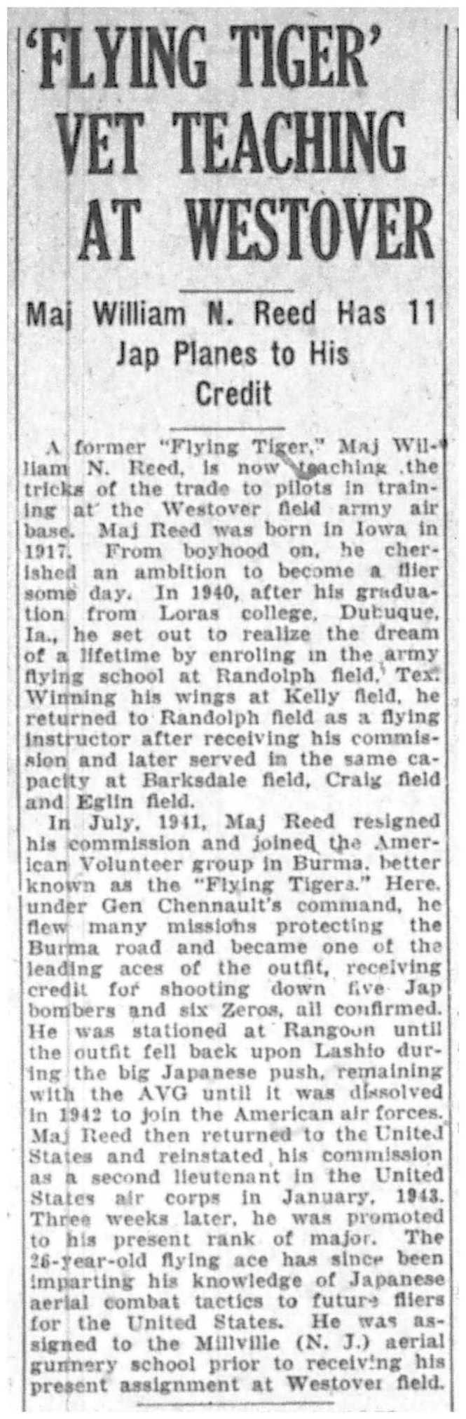 From the July 10, 1943 edition of The Springfield Daily News