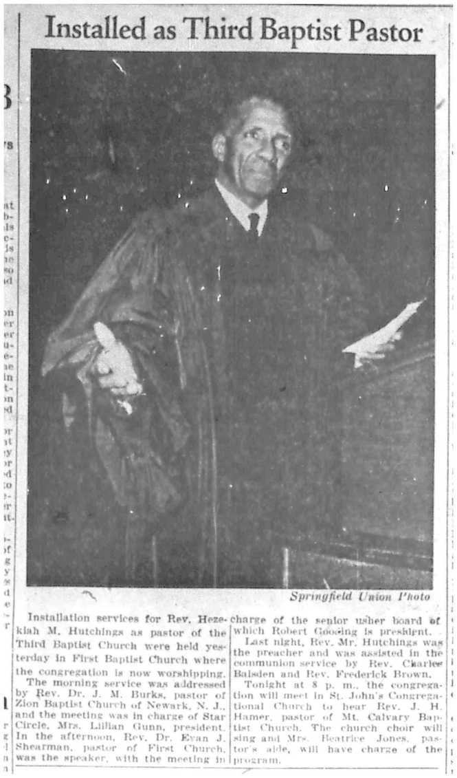 From the November 8, 1943 edition of The Springfield Union