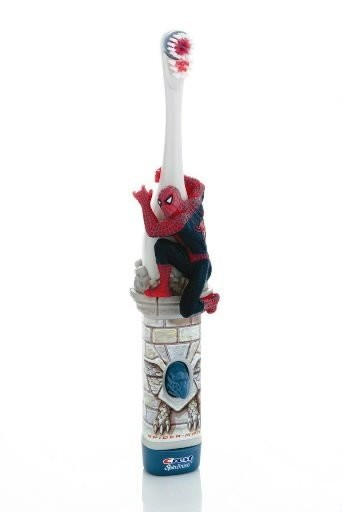 Personal care products are ideal stocking stuffers. For parents that want to make brushing teeth fun for children, battery operated toothbrushes that spin, light up and are of favorite characters will encourage daily brushing. (Photo courtesy of Crest SpinBrush)