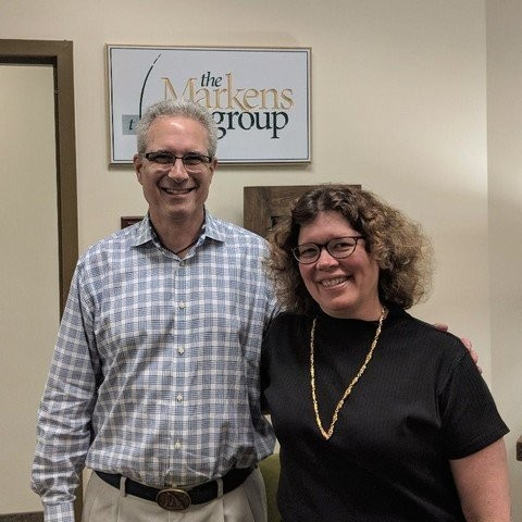 From left to right, Marc Lederman, Executive Director of CPMA, and Tessa O'Sullivan, Senior Account Manager at The Markens Group