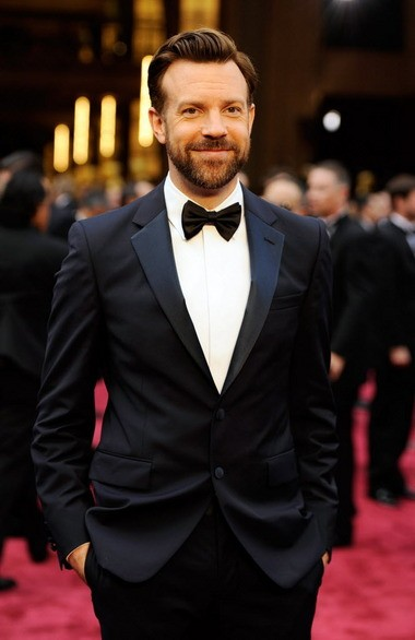 ason Sudeikis arrives at the Oscars on Sunday, March 2, 2014, at the Dolby Theatre in Los Angeles. (Photo by Chris Pizzello/Invision/AP)