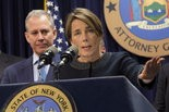 Massachusetts Attorney General Maura Healey has declared a crackdown on copycat assault weapons. (Mark Lennihan/Associated Press)