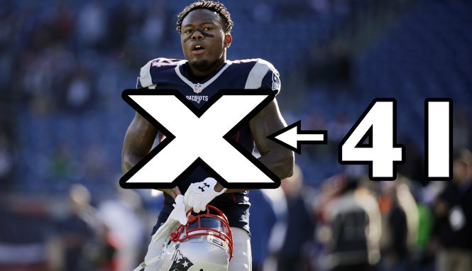 low priced ed67f 200bc Patriots jersey number changes: Cyrus Jones gives Stephon ...