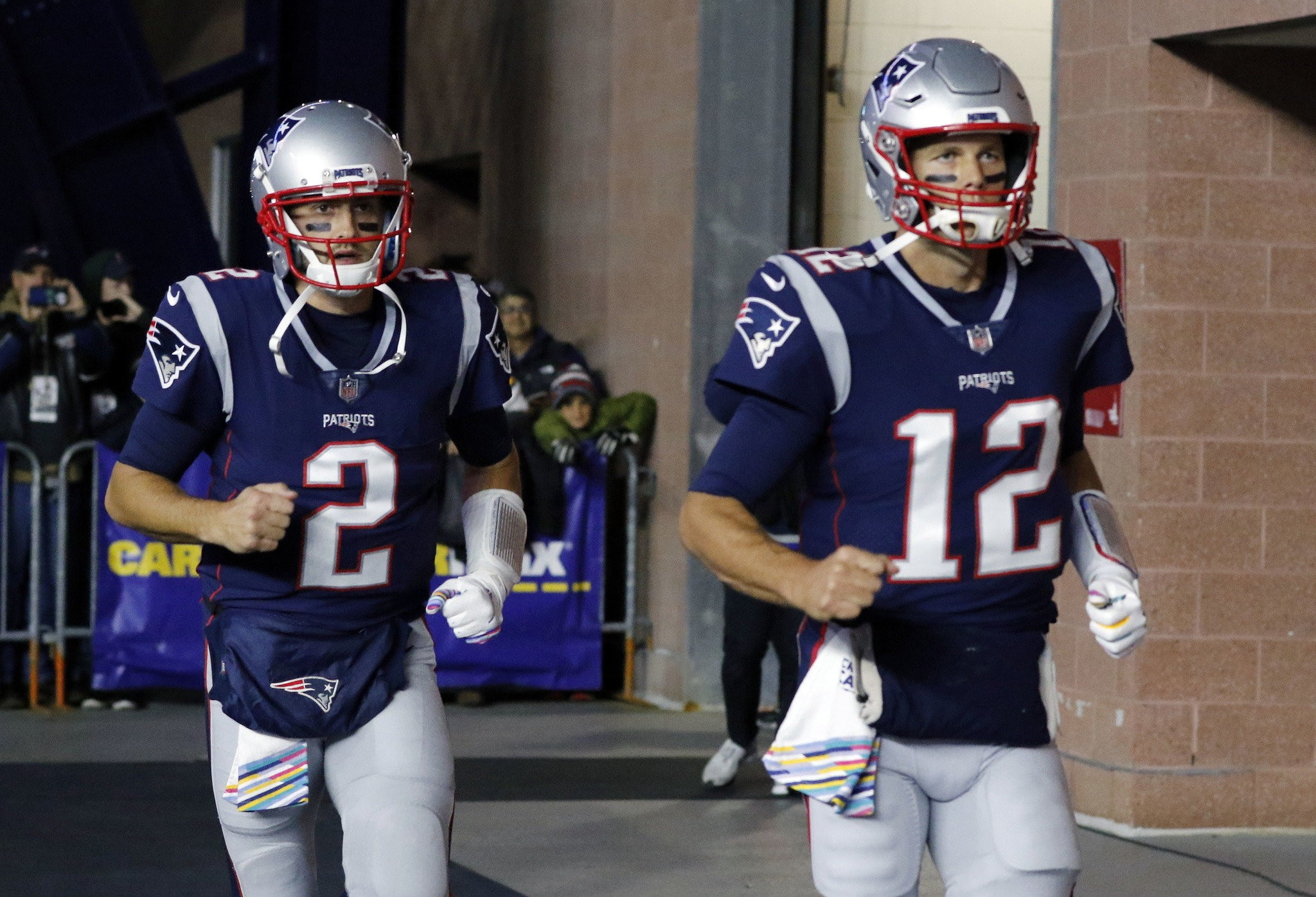 Tom Brady Questionable Brian Hoyer Has New England Patriots Teammates Confidence If He Starts Sunday Masslive Com