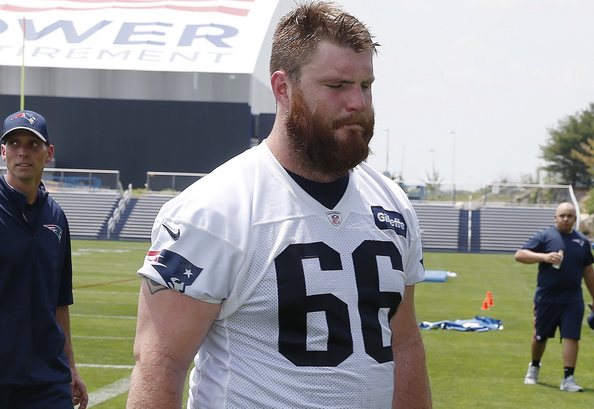 Bryan Stork booted from Patriots-Bears joint practice for fighting ...