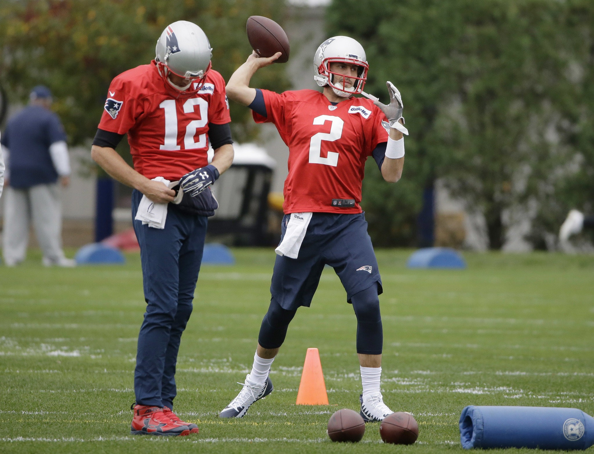 Brian Hoyer Attributes Nfl Longevity To Starting Career With New England Patriots Masslive Com