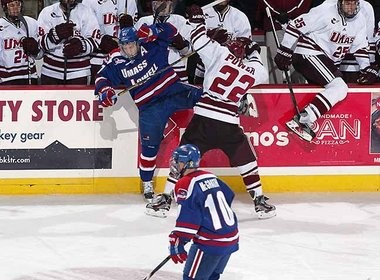 UMass-Lowell got the best of John Micheletto's team on Nov. 18, but with major Hockey East playoff implications at stake this weekend, the Minutemen are hoping for better results.