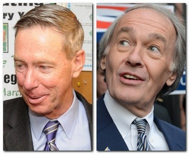 U.S. Rep. Stephen Lynch, D-South Boston; and U.S. Rep. Ed Markey, D-Malden, will square off in a Democratic primary on April 30 in the special election to replace John Kerry.