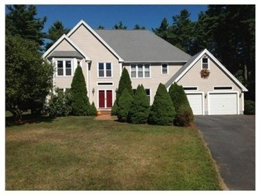"""Former U.S. Sen. Scott Brown has listed his family's home at 70 Hayden Woods, Wrentham, Mass. for $559,900. Described as a """"unique colonial located in the desirable neighborhood of Oak Point"""" in Wrentham, the sale of the home fuels speculation that Brown is considering a full-time move to New Hampshire for a potential Senate run. (Photo courtesy of Coldwell Banker Residential Brokerage)"""